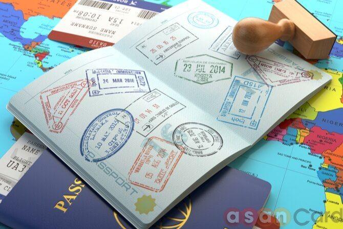 visa schengen - AsanCard
