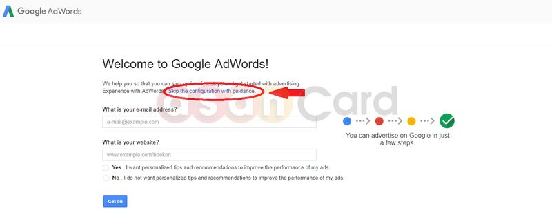 GoogleAdwords - AsanCard