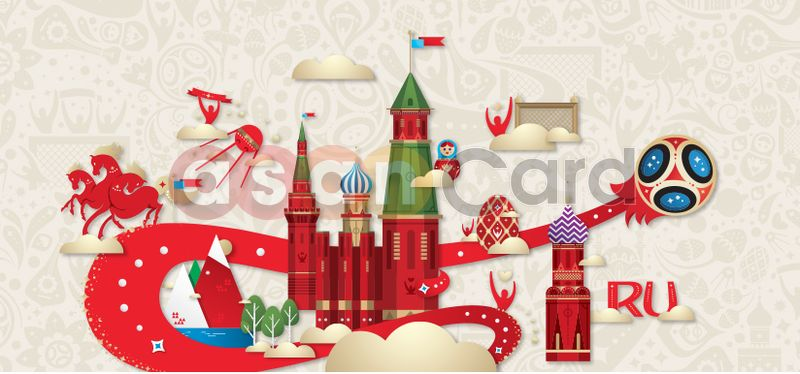 FIFA World Cup Russia 2018 - AsanCard
