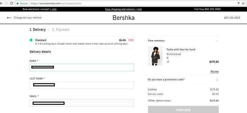 خرید از Bershka تحویل تهران | آسان کارت