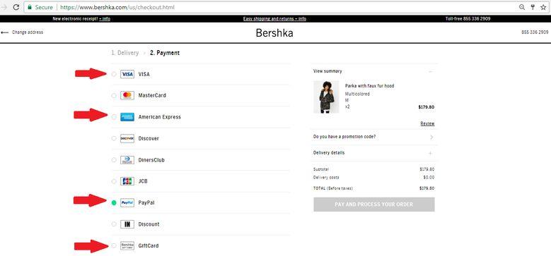 فروشگاه اینترنتی لباس برشکا | آسان کارت