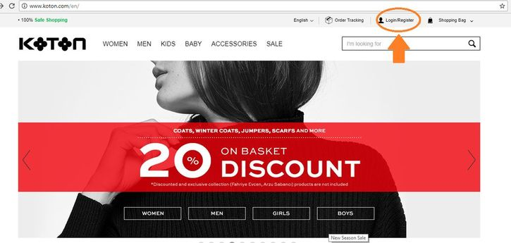 خرید آنلاین از Koton ترکیه | آسان کارت