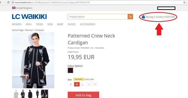 خرید آنلاین از ال سی ترکیه | آسان کارت