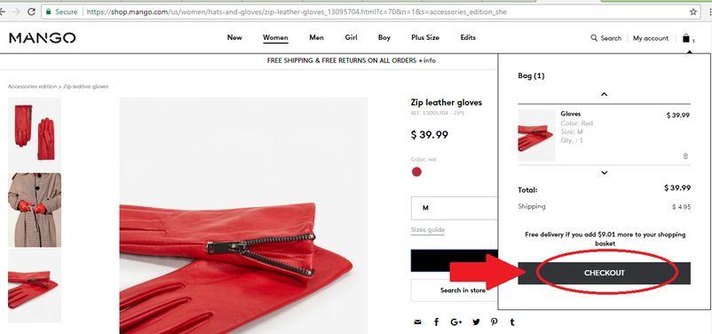 خرید اینترنتی لباس Mango | آسان کارت